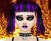 Purple & Black Abby
