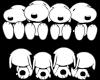 Snoopy Gang Sticker