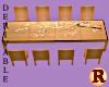 Asian Inspired Table Dev