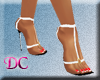 (DC)Floss White Sandals