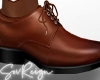 ! Dress Shoes - Brown