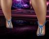 Showgirl Feet Blue