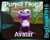[BD] PurpleFrogAvatar