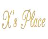 [JR] X's Place Sign