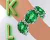 KL*BR-Bracelet/Esmeralda