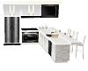 white kitchen animated