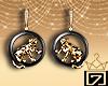 ♔ Leopard Earrings