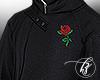 ♚ Rose Trench Coat