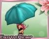 E! Umbrella: Blue