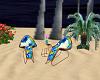 Tropical Beach Chairs