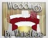 WL~ RWnG Wedding Couch