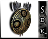 #SDK# Gold Wall Shield