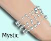 M| Light blue bracelet