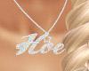 Hoe Custom Necklace