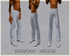 (CB) DIAMOND WEDGE PANTS