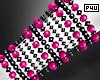 -P- Pink Pearl Cuff L