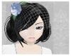 Flower Veil blue