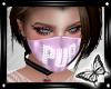 !! Pink Pup Mask
