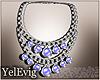 [Y] Necklace blue