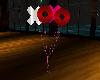 kisses hugs balloons