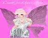 pink fairy bride