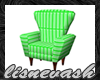 Lisnevash Green Chair