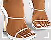 ṩLena Heels White
