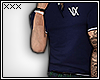 [X] Navy Polo.