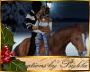 I~Kiss on Chestnut Horse