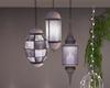 3 lamps garden