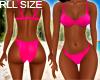 Hot Pink Rll Bikini
