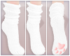 Paw Socks - white