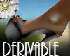 satin mules derivable