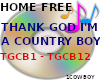 THANK GOD IM A COUNTRY