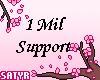 1Mil Support Sticker