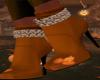 Pumpkin Spice Boots