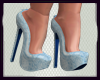 (R) Blue Gown Shoes