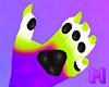 🅜 TRICK: claws paw