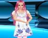 Child White & Pink Dress