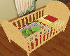 Pine Crib/Cot FrogCover