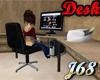 J68 Tile Top Desk