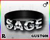 ☢! Sage Collar Silver