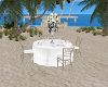 White Wedding Guest Tabl
