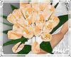 !Bridesmaid roses peach