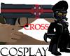 Cross Grave Gun