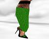 *AL* Green Lace Heel