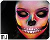 Glow Skull Head