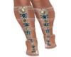Summer Heels/ Knee Highs