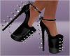 Spiked Cool Heels Pumps