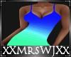 Blue Shadow Dress L